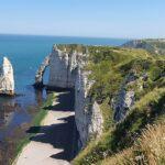 Normandie Landschaft Etretat