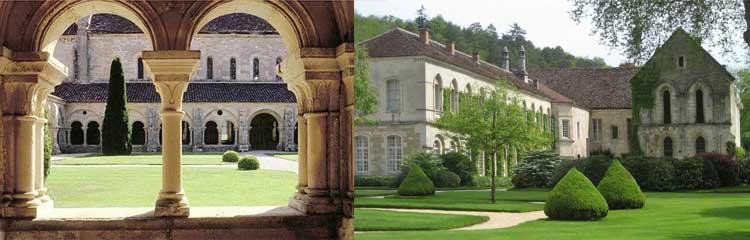 Abbaye de Fontenay Burgund
