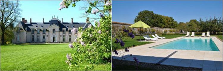 Im Schloss wohnen am Loiretal