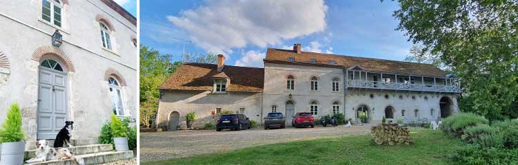 Ehemalige Wassermühle am Loiretal