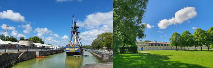 Rochefort und die königliche Seilfabrik