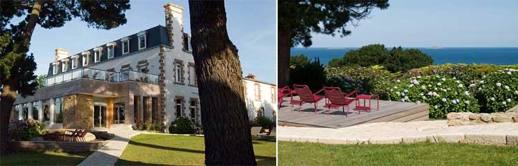 Charmantes Hotel in der Bretagne