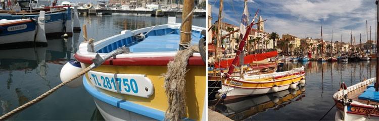 Kleiner Hafen im Mittelmeer